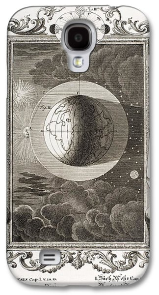 Creationism Galaxy S4 Cases - 4th Day Of Creation, Scheuchzer, 1731 Galaxy S4 Case by Paul D. Stewart