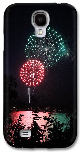 4th July Galaxy S4 Cases - 4th of July Fireworks Galaxy S4 Case by Amy Rounseville