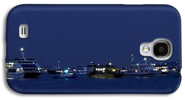 4th July Galaxy S4 Cases - 4th of July Flotilla on The Hudson Galaxy S4 Case by Lilliana Mendez