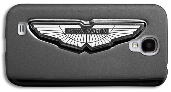 Imagery Galaxy S4 Cases - Aston Martin Emblem Galaxy S4 Case by Jill Reger