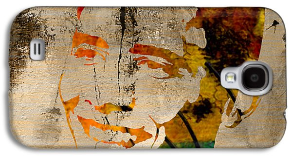 Barack Obama Mixed Media Galaxy S4 Cases - Barack Obama Galaxy S4 Case by Marvin Blaine