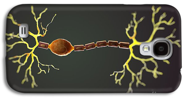 Bipolar Galaxy S4 Cases - Bipolar Neuron Galaxy S4 Case by Science Picture Co