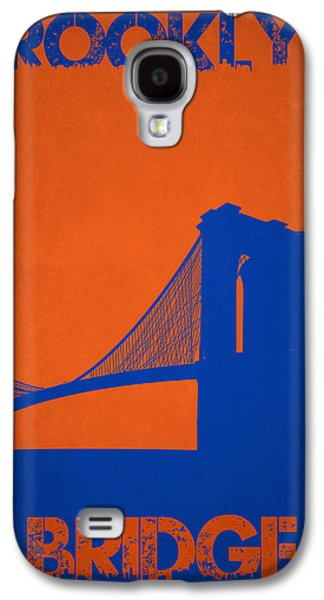 Manhatten Galaxy S4 Cases - Brooklyn Bridge Galaxy S4 Case by Joe Hamilton