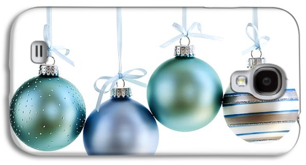 Festivities Galaxy S4 Cases - Christmas ornaments Galaxy S4 Case by Elena Elisseeva