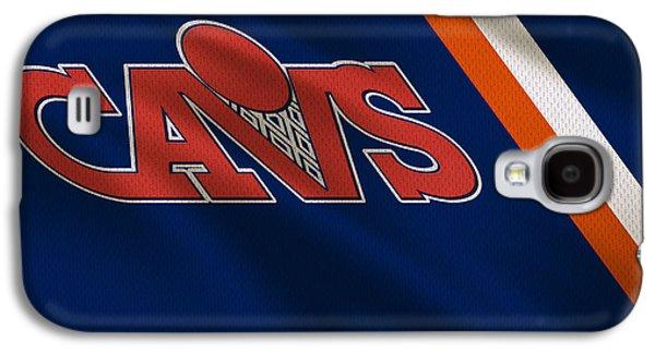 Cleveland Cavaliers Uniform Galaxy S4 Case by Joe Hamilton
