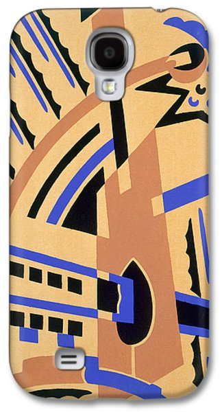 Bold Style Galaxy S4 Cases - Design from Nouvelles Compositions Decoratives Galaxy S4 Case by Serge Gladky