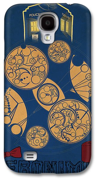 Tardis Galaxy S4 Cases - Doctor Who Galaxy S4 Case by FHT Designs