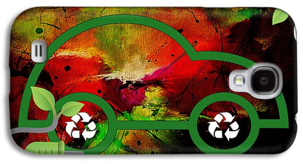 Energy Mixed Media Galaxy S4 Cases - Eco Collection Galaxy S4 Case by Marvin Blaine