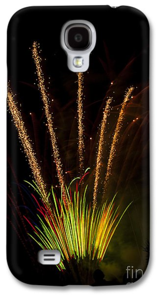 4th July Galaxy S4 Cases - Fireworks Galaxy S4 Case by Mandy Judson