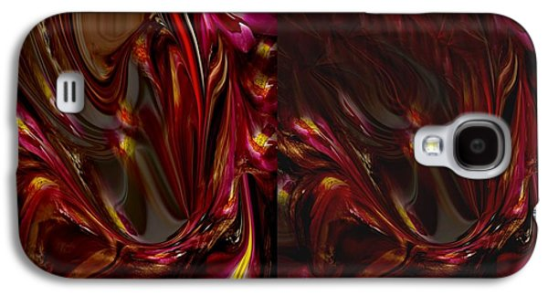 Flowers Galaxy S4 Case by HollyWood Creation By linda zanini