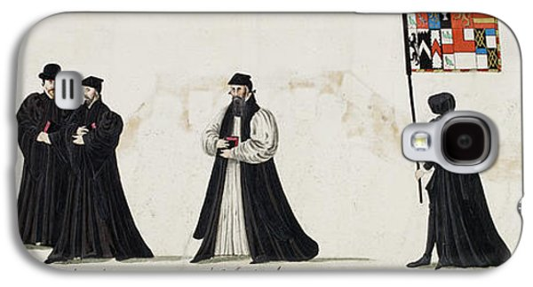 Funeral Processions Galaxy S4 Case by British Library