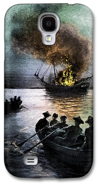 Gaspee Affair, 1772 Galaxy S4 Case by Science Source