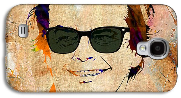 Movie Galaxy S4 Cases - Jack Nicholson Collection Galaxy S4 Case by Marvin Blaine