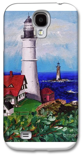 Lighthouse Hill Galaxy S4 Case by Linda Simon
