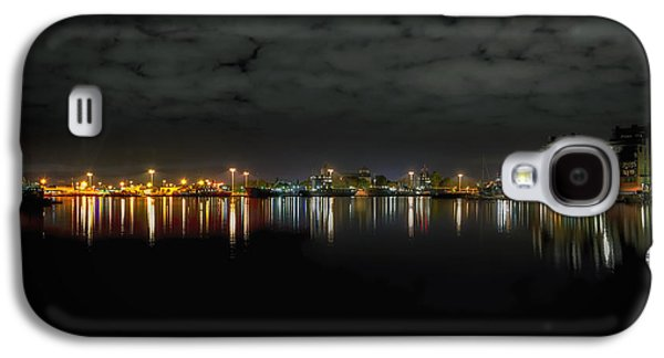 Light Galaxy S4 Cases - Lights of the Harbor Galaxy S4 Case by Mountain Dreams
