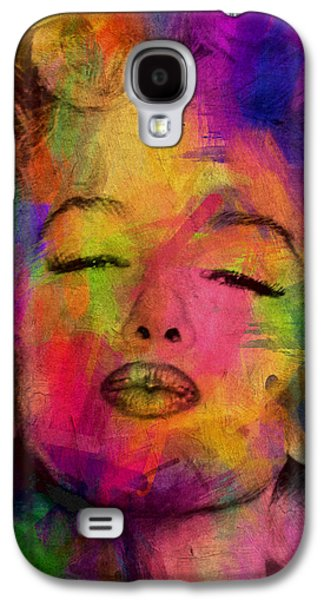 Person Galaxy S4 Cases - Marilyn Monroe Galaxy S4 Case by Mark Ashkenazi