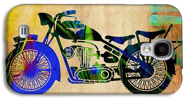Old Galaxy S4 Cases - Motorcycle. Galaxy S4 Case by Marvin Blaine