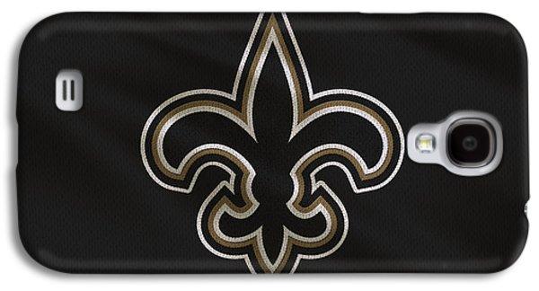 Orleans Photographs Galaxy S4 Cases - New Orleans Saints Uniform Galaxy S4 Case by Joe Hamilton