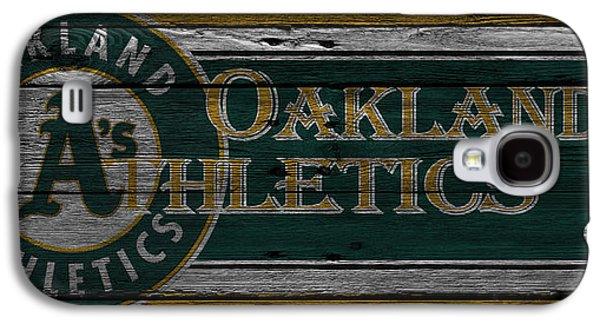 Oakland Photographs Galaxy S4 Cases - Oakland Athletics Galaxy S4 Case by Joe Hamilton