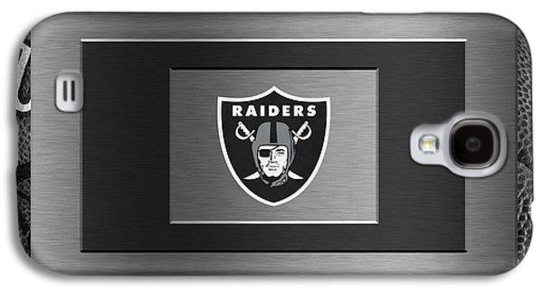 Oakland Photographs Galaxy S4 Cases - Oakland Raiders Galaxy S4 Case by Joe Hamilton