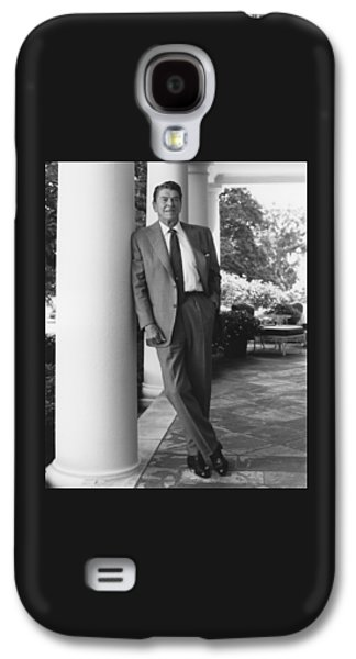 Reagan Galaxy S4 Cases - President Ronald Reagan Galaxy S4 Case by War Is Hell Store