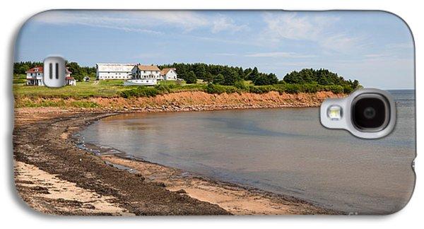 Small Towns Galaxy S4 Cases - Prince Edward Island coastline Galaxy S4 Case by Elena Elisseeva