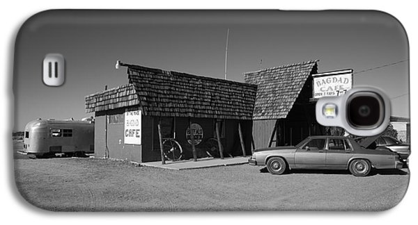 Baghdad Prints Galaxy S4 Cases - Route 66 - Bagdad Cafe Galaxy S4 Case by Frank Romeo
