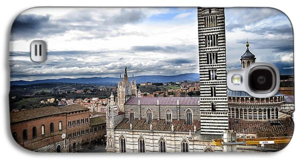 Landmarks Photographs Galaxy S4 Cases - Siena Galaxy S4 Case by Ulisse