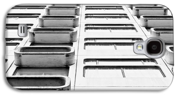 1980s Galaxy S4 Cases - Skyscraper Galaxy S4 Case by Tom Gowanlock