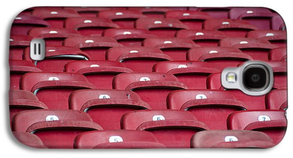 Open Air Theater Galaxy S4 Cases - Stadium Seats Galaxy S4 Case by Frank Gaertner