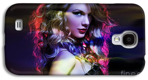 Taylor Swift Galaxy S4 Cases - Taylor Swift Collection Galaxy S4 Case by Marvin Blaine