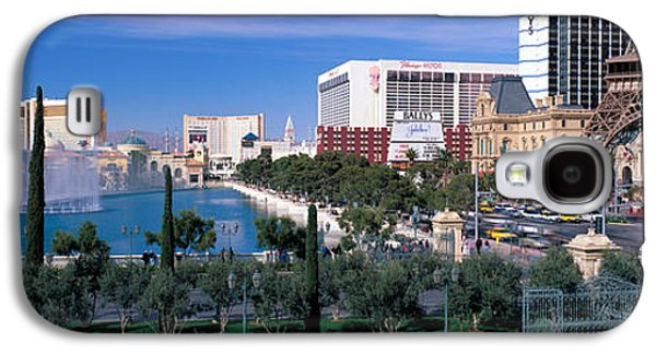 The Strip Galaxy S4 Cases - The Strip, Las Vegas, Nevada, Usa Galaxy S4 Case by Panoramic Images