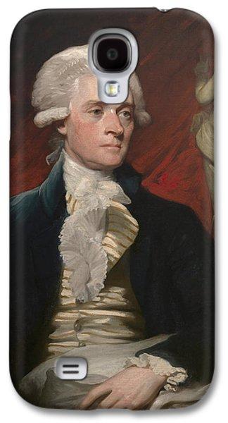 Thomas Jefferson Paintings Galaxy S4 Cases - Thomas Jefferson Galaxy S4 Case by War Is Hell Store