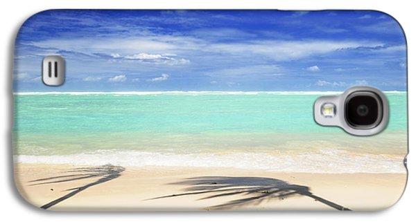 Beach Landscape Galaxy S4 Cases - Tropical beach Galaxy S4 Case by Elena Elisseeva