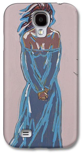 African-american Mixed Media Galaxy S4 Cases - Untitled Galaxy S4 Case by Deryl Daniel Mackie