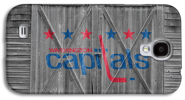 Capital Galaxy S4 Cases - Washington Capitals Galaxy S4 Case by Joe Hamilton