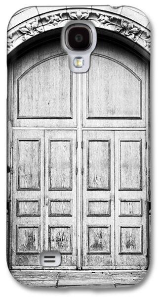 Wooden Door Galaxy S4 Case by Tom Gowanlock