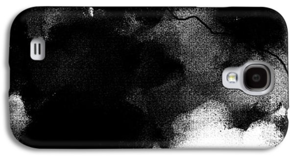 Abstract Digital Paintings Galaxy S4 Cases - 5000 Stk Galaxy S4 Case by Sir Josef  Putsche Social Critic