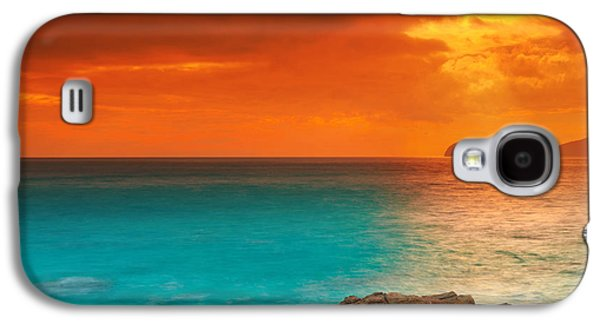 Recently Sold -  - Landscapes Photographs Galaxy S4 Cases - Sunrise Galaxy S4 Case by MotHaiBaPhoto Prints