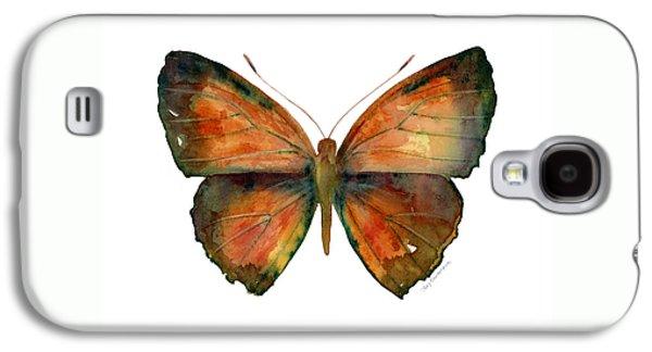 56 Copper Jewel Butterfly Galaxy S4 Case by Amy Kirkpatrick