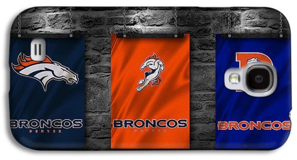 Denver Broncos Galaxy S4 Case by Joe Hamilton