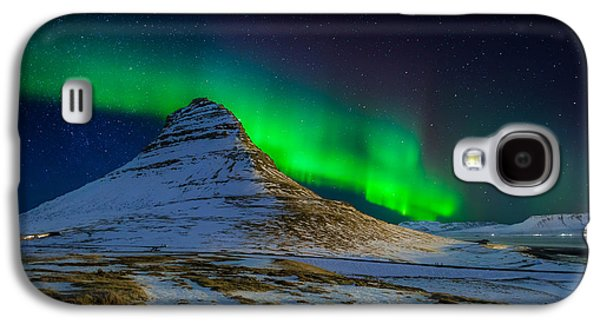 Aurora Borealis Or Northern Lights Galaxy S4 Case by Panoramic Images