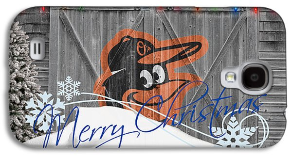 Baltimore Orioles Galaxy S4 Case by Joe Hamilton