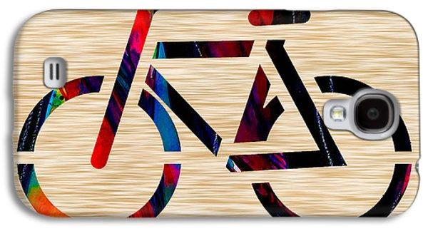 Bike Galaxy S4 Case by Marvin Blaine