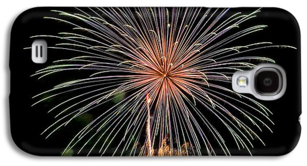 4th July Galaxy S4 Cases - Fire Works Galaxy S4 Case by Devinder Sangha