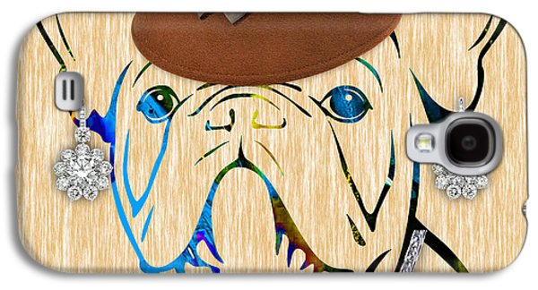 Portrait Galaxy S4 Cases - French Bulldog Collection Galaxy S4 Case by Marvin Blaine