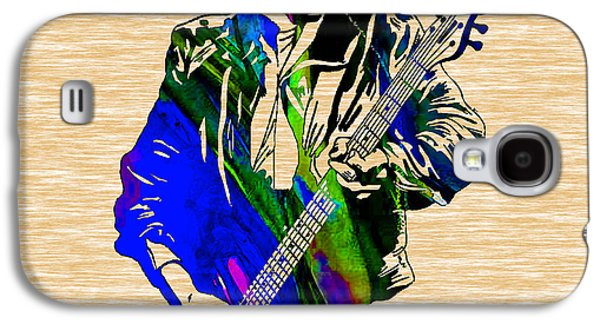 Stones Galaxy S4 Cases - Keith Richards Collection Galaxy S4 Case by Marvin Blaine