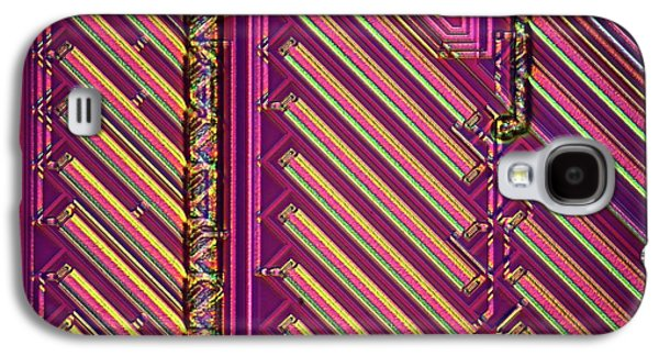 Microchip Surface Galaxy S4 Case by Frank Fox