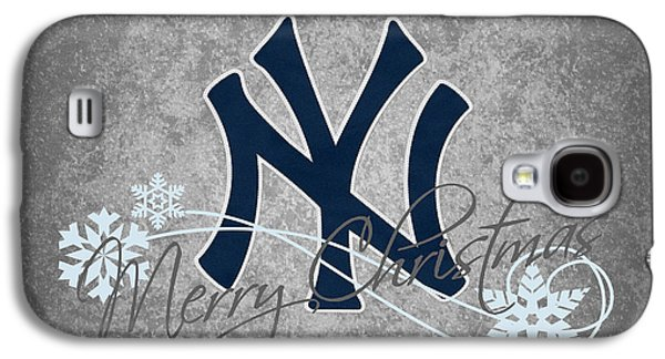 Foul Ball Galaxy S4 Cases - New York Yankees Galaxy S4 Case by Joe Hamilton