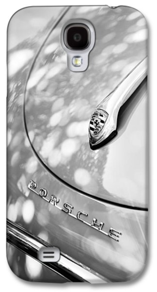 Transportation Photographs Galaxy S4 Cases - Porsche 1600 Super Hood Emblem Galaxy S4 Case by Jill Reger